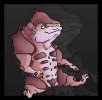 Baby Krogan by giannapellegrini