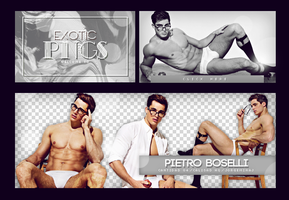 Pack Png 731 // Pietro Boselli by ExoticPngs
