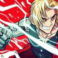 War-face Wednesday: The Fullmetal Alchemist by AndrewKwan