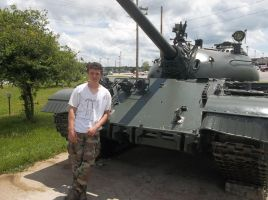 Me and the T-54 by SirMauser