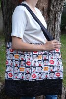 Betty Boop quilted bag by quiltoni
