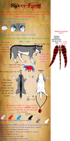 Silver-fang's reference sheet by Metalwolf13