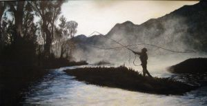 Fly Fishing by X-Ray138