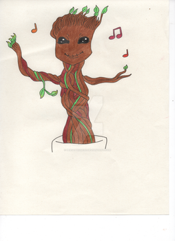 Baby Groot by Persephone30