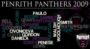 Penrith Panthers 2009 Wordle by ChocSoldier