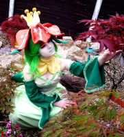 Lilligant Cosplay 2 by TheBlindProphetess