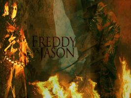 Freddy vs Jason by serialkiller07