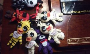Five Nights At Freddy's Keychains For Sale by IrashiRyuu