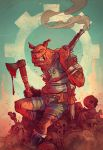 Oink : Heaven's Butcher Pin-Up by blitzcadet