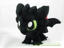 chibi toothless IV by MagnaStorm