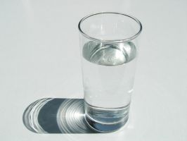 Glass of water 1 by photohouse