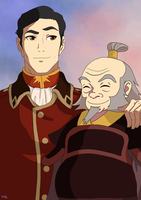 ATLA: General Iroh by momofukuu