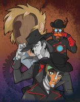 Steam Powered Giraffe: Anime by LuvableNerd