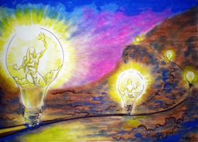 Lighting the way by tomhegedus