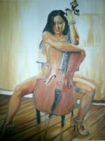 gay-yee on cello by juneri