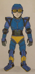 Simon Garretson - Speedball OC with bio by spyaroundhere35