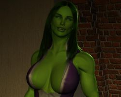 She hulk - Exclusive 04 by MorganCygnus
