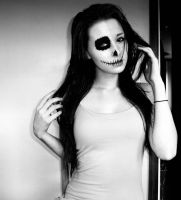 Day Of The Dead meets Girl of the Living by Pain-NeverHurtAnyone