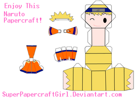 Naruto Papercraft by SuperPapercraftGirl