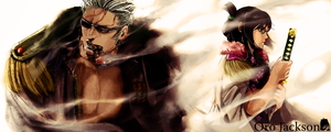 Smoker and Tashigi after time skip by Freeze1992