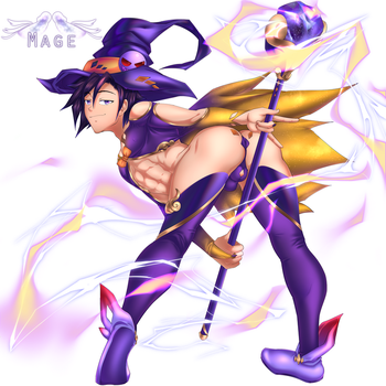 RPG Mage by SourShockX