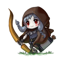 Dragon's Crown - Elf Chibi by cubehero