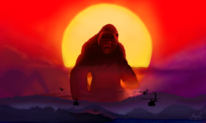 Kong: Skull Island by WeaponX-Art