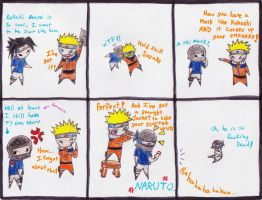 Naruto Comic - The Emo by MultiColoredCrow