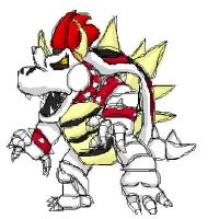 Dry Bowser by ClassicKid