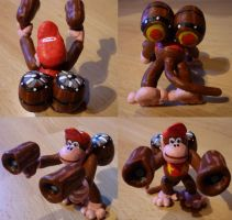 Diddy Kong Figurine by Jelle-C