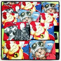 SlothStudio pouch by tamaow