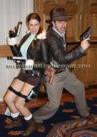 Hal-Con 2011 Lara and Indy 3 by RelicRaider