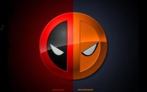 Deadpool and Deathstroke Logo by IAmDashing12