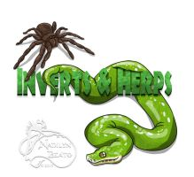 Logo Design for Inverts n Herps by NadilynBeato