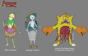 Adventure Time Character Designs by crazyfroggster8