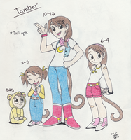 DBZ Nextgen: Tamber by MajesticReaper
