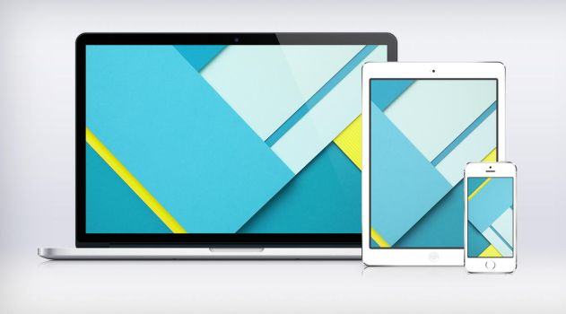 Google I/O Paper Wallpaper Material Design by JasonZigrino