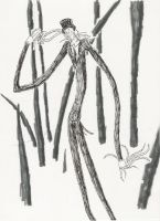 Slenderman-hello there... by Internet-Cancer