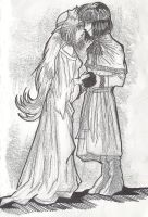 XelFi a la Aragorn and Arwen by AmberPalette