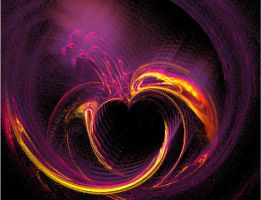 Heart Fractal by ElrithRydrine