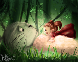 Totoro! by italypizza25