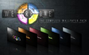 UPDATED: We aRe oNe Pack by dj-corny