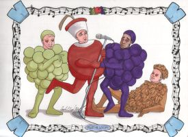 The Fruity Guys by angelacapel