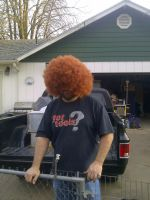 My dads new fro by KMKramer44