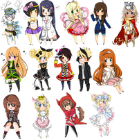gaiaOnline Commission Batch by Aka-Ai