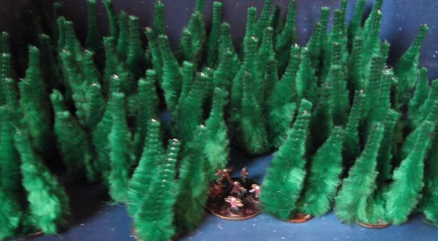 6mm-scale pine forest by Spielorjh