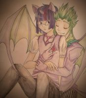 Spike x Twill: Happy Valentine's Day by Clarichi