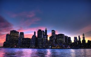manhattan skyline 01 by zerus
