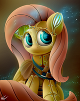 Limited Edition Steampunk-esque Flutter Bot by SymbianL