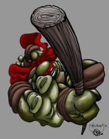 Out of Darkness-Donny by scribblesartist